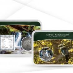 Australia - 1 Dollar 2017 Perth Mint Kookaburra 2017 Epalux Edition Argint