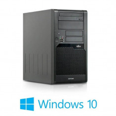 Calculatoare Refurbished Fujitsu ESPRIMO P5731, Core 2 Duo E7400, Win 10 Home