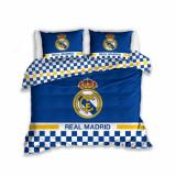 Cumpara ieftin Lenjerie pat dublu Real Madrid, 3 piese, 200x220cm