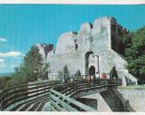Bnk cp Targu Neamt - Cetatea Neamtului - necirculata - marca fixa, Printata