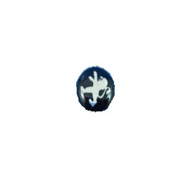 Emblema logo sigla cheie auto Peugeot rotunda