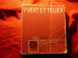 Catalog Yvert - Europa de Vest 1992 , 1112pag