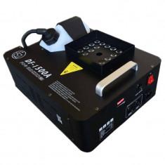 Masina de fum DF-1500A, 1500 W, 24 x LED, telecomanda