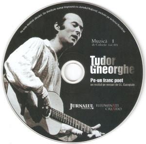 Vand cd Tudor Gheorghe – Pe-un Franc Poet , original, holograma