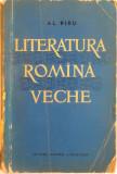 LITERATURA ROMANA VECHE de AL. PIRU, 1961
