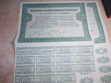 LOT 2 ACTIUNI : SOCIETATEA ROMANA DE TELEFOANE , TITLU ACTIUNI 10.000 LEI ~ 1938