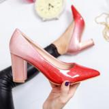 Pantofi Loveme rosii