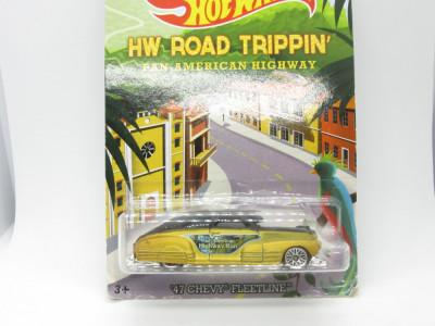 Hot wheels 47 Chevy Fleetline Road Trippin 1:64 foto
