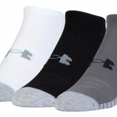 Șosete Under Armour HeatGear Tech No Show Socks 3-Pack 1312439-040 pentru Unisex