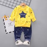 Costumas galben pentru baietei - Misanely (Marime Disponibila: 2 ani)
