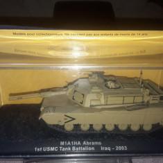 Macheta tanc M1A1HA ABRAMS  1st USMC TANK BATTALION  IRAQ - 2003 scara 1:72