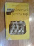 k4 Deserturi pentru toti- Dan Sdrobici, Alex Cioara (copeti mazgalite interior