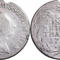 1779 - B - ⅓ thaler - Friedrich II - Regatul Prusiei