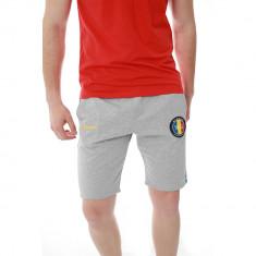 Pantaloni scurti barbati, bumbac, sport, model de vara, slim fit, buzunare laterale, model romania - ES2RO18S2