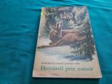 HOINĂRELI PRIN NATURĂ/ DEMOSTENE BOTEZ, IONEL POP/ ILUSTRAȚII COCA CREȚOIU/1972