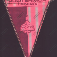 Fanion  FOTBAL CLUB POLITEHNICA TIMISOARA