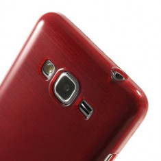 Husa Galaxy Core Prime G360 - Gel TPU Satinat Rosu