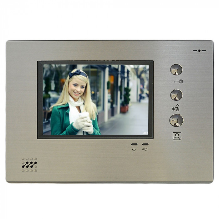 Resigilat : Monitor color apartament VPS-M8A383C, pentru interfon VPS-M8A363