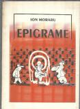 Ion Moraru - Epigrame / Evrika, Braila, Galati, 1993 /autograf catre C. Paunescu