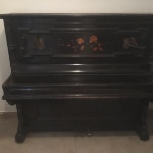 Pianina germana veche - C. Goetze - Berlin