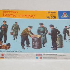 + Kit figurine 1/35 Italeri 306 - Tank Crew +