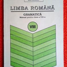 Limba romana   Gramatica   Manual pentru clasa a VIII-a  - Ion Popescu 1995, Clasa 8