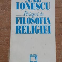 Prelegeri de filosofia religiei – Nae Ionescu