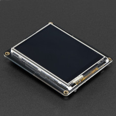 "Shield display TFT FeatherWing cu touchscreen 2.4"" 320x240 pentru Adafruit Feather"