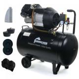 Cumpara ieftin Compresor de aer industrial 2 cilindri 530 l/min 100L 2.2kW 230v B-V2-2047-100L
