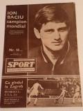 Revista - SPORT (Dinamo,Petrolul Ploiesti,etc...) nr.18/septembrie/1967)