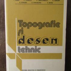 TOPOGRAFIE ȘI DESEN TEHNIC-I.VIERIU, P.IONESCU, C.DEACONESCU