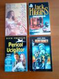 Set 4 romane poitiste - Dick Francis, John Buel,  Jack Higgins, Minette Walters)
