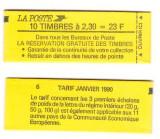 Franta 1989 - Carnet filatelic, Marianne, neuzat