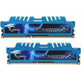 Memorie G.Skill Ripjaws X Blue 16GB DDR3 2400MHz CL11 1.65v Dual Channel Kit, DDR 3, 16 GB