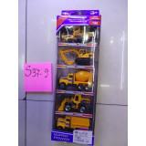S37-09 SET 5 MASINUTE METAL 5X9 CM