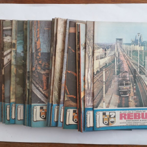 Lot 23 reviste REBUS FLACARA 1989 an complet / C1 rev P