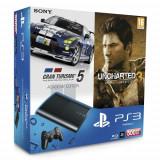 Consola SONY PlayStation 3 Super Slim 500 GB SH + 2 jocuri