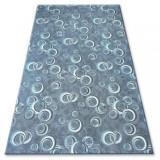 Covor - Mocheta Drops gri, 150x300 cm