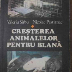 CRESTEREA ANIMALELOR PENTRU BLANA - V. SIRBU N. PASTIRNAC