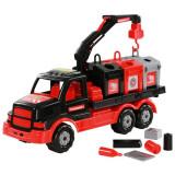 Camion salubrizare Mammoet 47x18x23 cm - Polesie