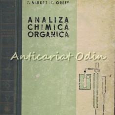 Analiza Chimica Organica - Francis Albert - Tiraj: 1950 Exemplare
