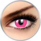 Glow Pink - lentile de contact colorate Crazy roz anuale - 360 purtari (2 lentile/cutie)
