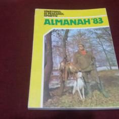 ALMANAH VANATORUL SI PESCARUL SPORTIV 1983