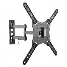 Suport Kruger Matz pentru TV LED, universal, 23-55 inch, negru