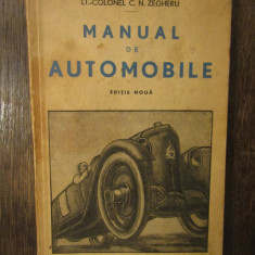 MANUAL DE AUTOMOBILE-C.N.ZEGHERU