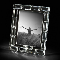 Rama foto cristal RETTANGOLI 13 X 18 LUX by Chinelli made in Italy