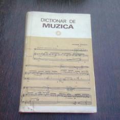 DICTIONAR DE MUZICA- IOSIV SAVA SI LUMINITA VARTOLOMEI, BUC. 1979