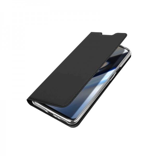 Husa carte flip wallet Dux Ducis pentru OnePlus 7 Pro, negru