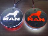 Lampa oglinda Pablo LED -Logo MAN