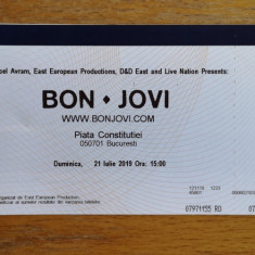 Bilet concert Bon Jovi